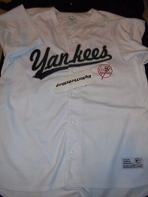 371a4315639 Dynasty New York NY Yankees Baseball MLB Jersey Men Adult XL Embroidered