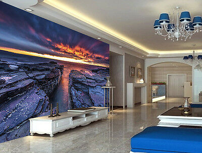 Megalit Stones Sunset Full Wall Mural Photo Wallpaper Print Kids Home 3D Decal