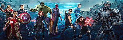 Avengers Age of Ultron V A1 High Quality Canvas Art Print