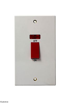 45 Amp DP Switch w/ Neon (Cooker)