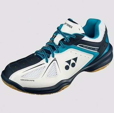 2017 Yonex POWER CUSHION 35 Badminton Shoes SHB35EX Wh/Blue,Good Traction/Unisex