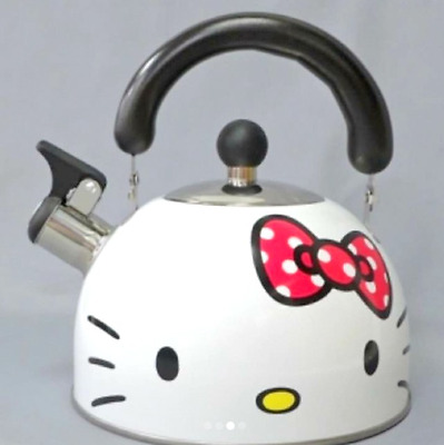 ❦SANRIO Hello Kitty Ribbon Enamel kettle 2.3 L Pot from JAPAN NEW Free shipping❦