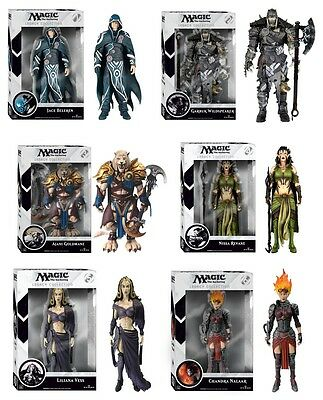 """MAGIC THE GATHERING - 7"""" Legacy Collection Series 1 Action Figure Set (6) Funko"""