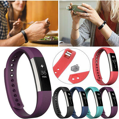 Luxury Silicone Replacement Watch Wrist Band Strap For Fitbit Alta Wristband New