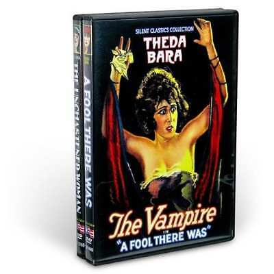 Theda Bara: The Original Vamp (A Fool There Was / The Unchastened Woman) (2-DVD)