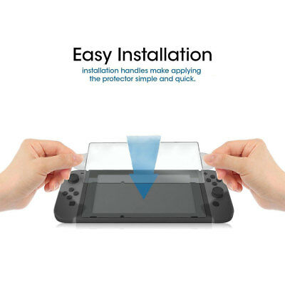 Premium Tempered Glass Film Screen Protector for Nintendo Switch Durable