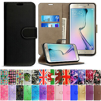 Magnetic Flip Cover Stand Wallet Leather Case For Samsung Galaxy Various Phones