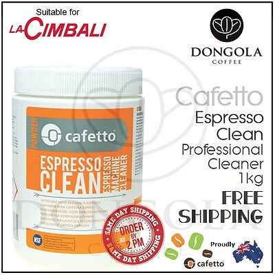 LA CIMBALI 1kg Espresso Coffee Machine Cleaner Profesional Cleaning by Cafetto