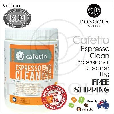 ECM 1kg Espresso Coffee Machine Cleaner Profesional Cleaning by Cafetto