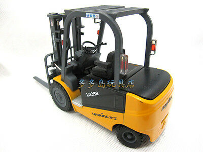 1:25 Diecast LONKING Forklift Yellow Color Car Model LG35B For Collection