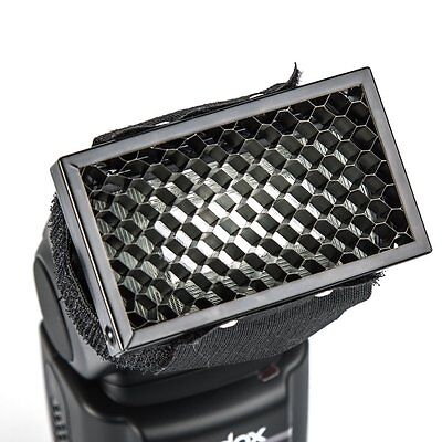 HB-01 Flash Honeycomb Grid Spot Filter For Canon Nikon Yongnuo Flash Speedlite