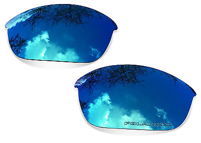Fit&See Polarized Ice Blue Replacement Lenses for Oakley Half Jacket