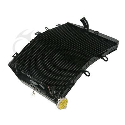 Radiator Cooler Cooling For Kawasaki ZZR600 ZX600J 2005-2008 ZX6R 1998-2002