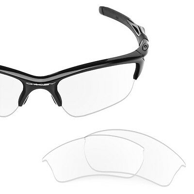 Fit&See Polarized Crystal Clear Replacement Lenses for Oakley Half Jacket 2.0