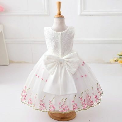 Wedding Bridesmaid Flower Girl Party Baby Communion Occasion Dresses Age 2-12 Y