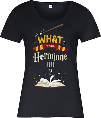 Harry Potter Ladies T-Shirt,What Would Hermione Do,Inspired Design
