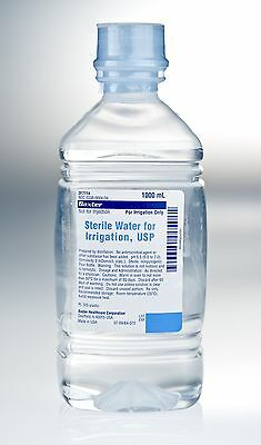 Baxter Sterile Water For Irrigation 1000ml,Sterile,Not for Injection UK