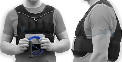 BodyRip Weighted Vest 10kg Jacket Strength Training Running Gym Exercise Fit