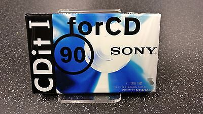 Vintage Audio Cassette SONY CDit I 90 * Rare From 1995 *