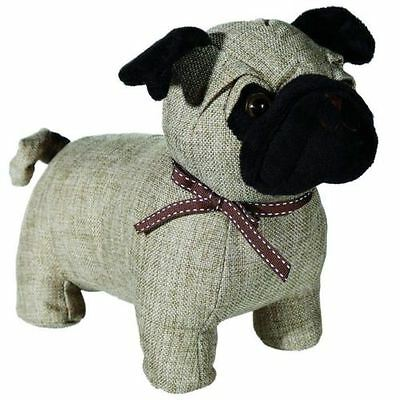 Pug Dog Fabric Door Wedge Stop Stopper Stay - Cute Novelty - Ideal Gift