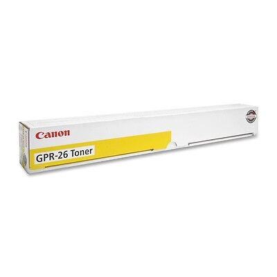 Canon GPR-26Y Yellow Toner Cartridge - Laser - 9500 Page - 1 Each