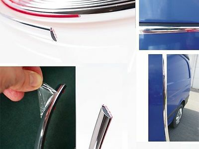 26mm x 5m Chrome Self Adhesive Car  Detail Edging Styling Moulding Trim Strip