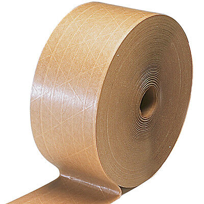 BETTER PACK GUMMED TAPE 8 RL  375' 70mm WIDE REINFORCED  PATCO