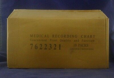 Medical Recording Chart 7622321 Box of 10 NEW