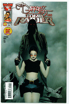 |•.•| DARKNESS AND TOMB RAIDER • Issue 1 • Dynamic Forces DF Original Cover •