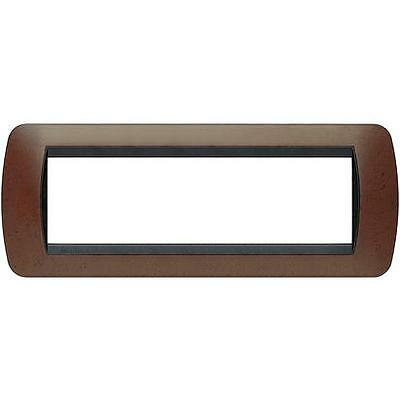 Placca 7P Bachelite Bticino Living Light