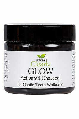 Isabellas GLOW Best Natural Teeth Whitening Charcoal Powder Toothpaste