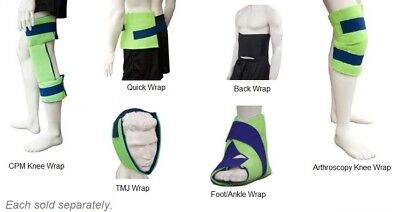 BrownMed Polar Ice Knee Wrap - All Sizes - Sold Each - #3010x