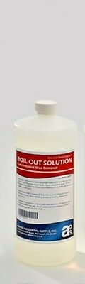 BOIL OUT SOLUTION- QUART CONCENTRATE Makes 1 Gallon For Dental Lab
