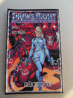 Divine Right Collected Edition 1 . Jim Lee - Image  1998   - VF - minus