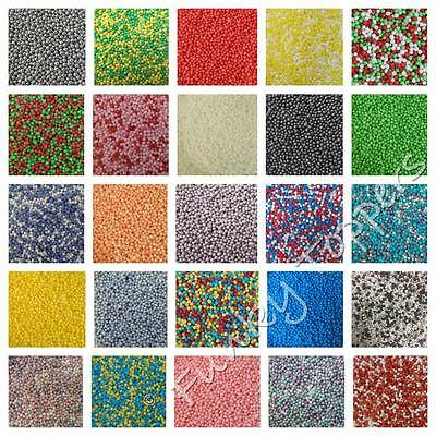PICK MIX Edible Sugar Cupcake Sprinkles Cake Decoration 100 & 1000's Nonpareils