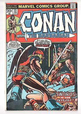 Conan the Barbarian #23 (1970 Series) 1st Red Sonja Marvel 1973 FN/VF