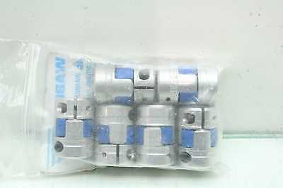 6 New Rotex GS9KTR-D-4840 Spider Type Shaft Couplers 8mm x 10mm Bore