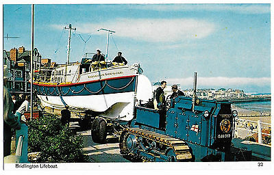Vintage Postcard.  Bridlington Lifeboat.  Unused.   Ref:73209