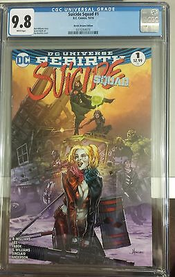 Suicide Squad #1 (2016) CGC 9.8 Heroic Dreams Jay Anacleto Variant Ltd to 3000