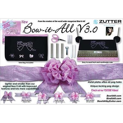 Zutter Bow-It-All V3.0 - Bow Maker - Create perfect bows!!