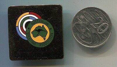 Badge South Pacific Shooting Champs Brisbane 1986