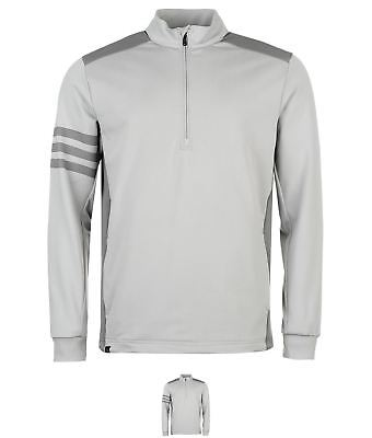 DI MODA adidas Competition Quarter Zip Golf Sweater Mens Grey