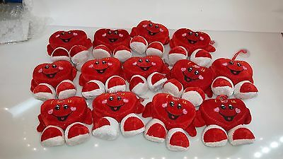 12pcs Valentine's Day Heart Plush speaking Hearts i love you - needed repairs