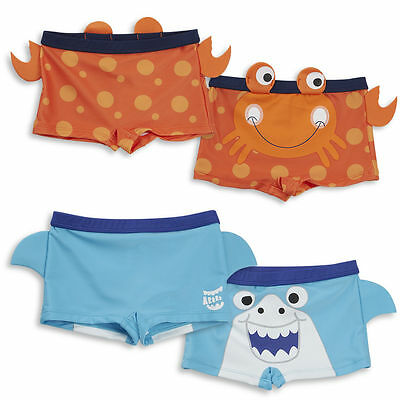 Baby 3D Novelty Boys Swimwear Swimming Trunks Swim Shorts 3 Months - 5 Years