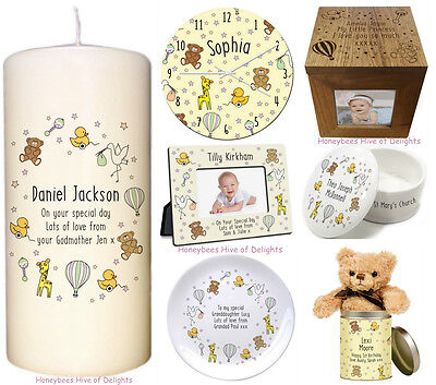 PERSONALISED GIFT Idea For New Born BABY Christening 1st  BIRTHDAY Girl Boy