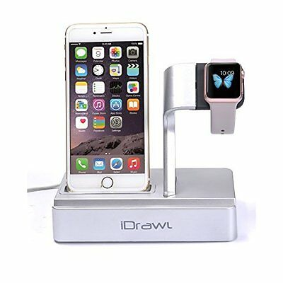 Apple Watch Stand 3 in 1 Multifunctional Charger Dock for iWatch and Smart Phone