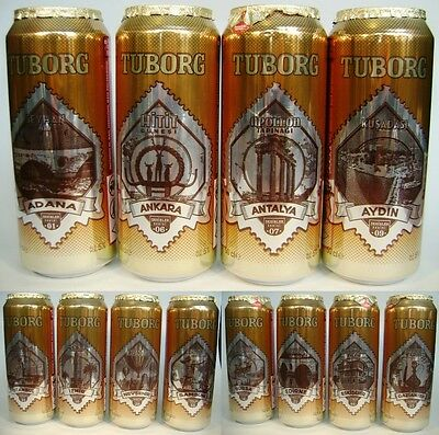 Tuborg 12 Cities Complete Set / Limited Edition - From Turkey