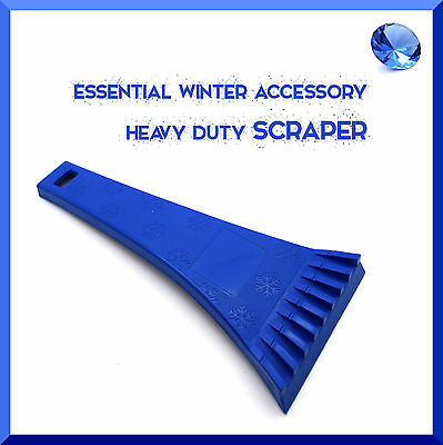 Ice Scraper for Car Windows Cleaning Scraping Heavy Duty Winter Anti Frost ABS