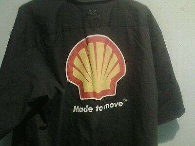 Shell Oil Mechanics Shirt Xl