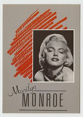 MODERN POSTCARD - Marilyn Monroe, sultry pose inset